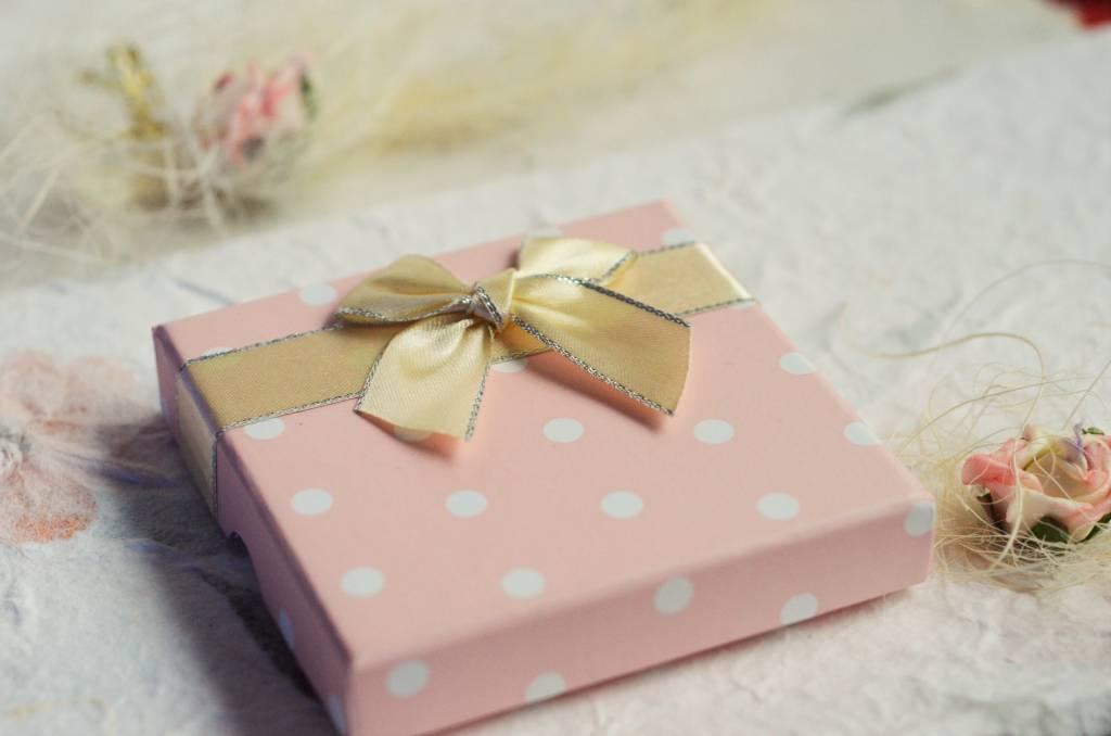 KAYA jewellery Girls Necklace & Bracelet Set 'Infinity Pink' with Heart