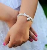 Star Mom & Me bracelets 'White Star' with heart