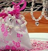 "KAYA jewellery Silver chains set ""Key to my Heart '"