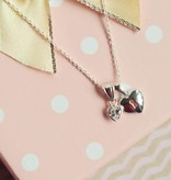 "silver jewellery Silver Mom & Me necklaces ""Key to my Heart"""