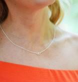 KAYA jewellery Silver Mom & Me chains 'Entangled hearts'