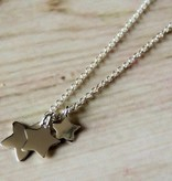 silver jewellery Silver Mom & Me chains 'I Love you to the Stars & Back'