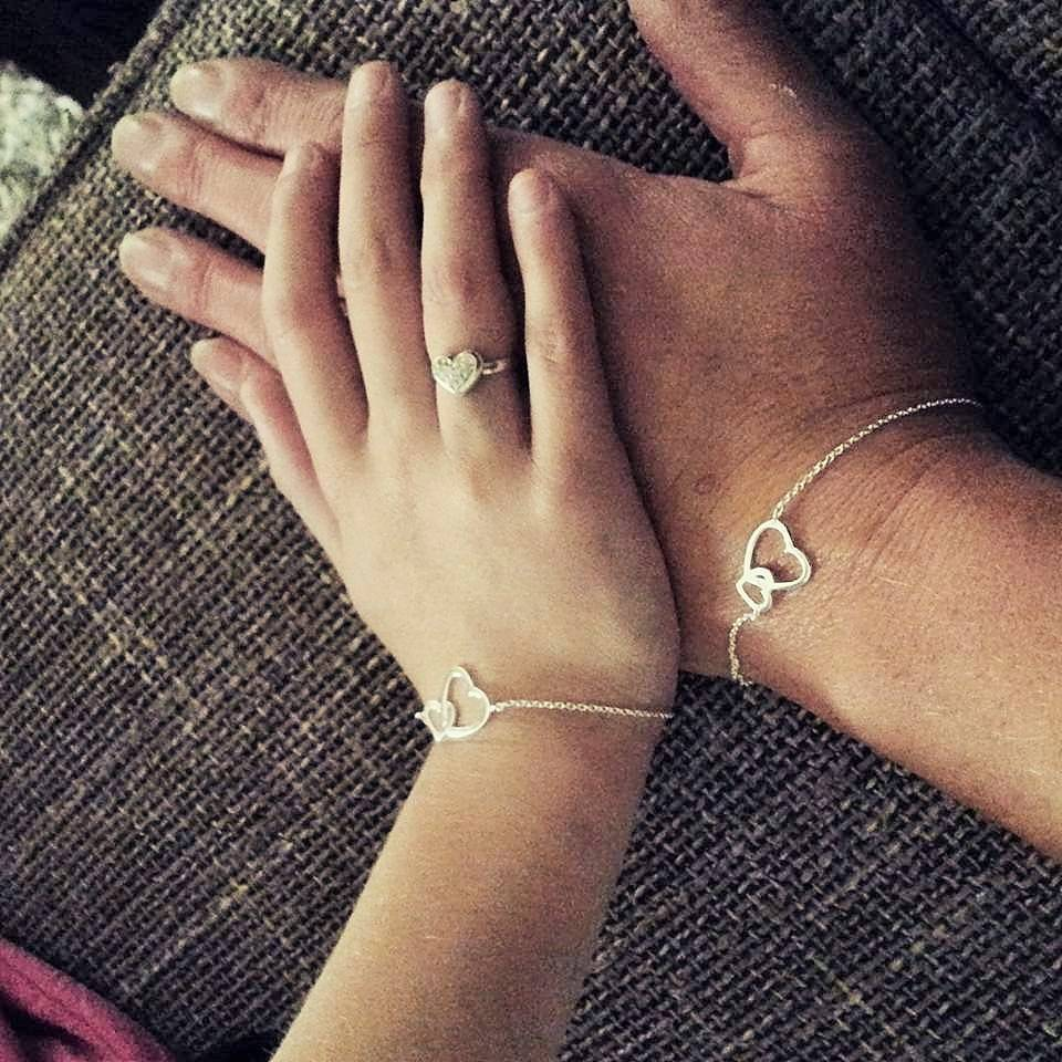 "KAYA jewellery Silver bracelets third generation ""Connected"""