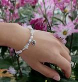KAYA jewellery Silver three generation 'Midnight Star' with heart
