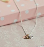 "Little Star (silver) Three Generation Silver Necklaces ""Triple Love"""