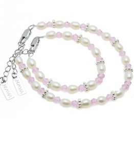 KAYA jewellery Mom & Me bracelets 'Infinity pink' without charms