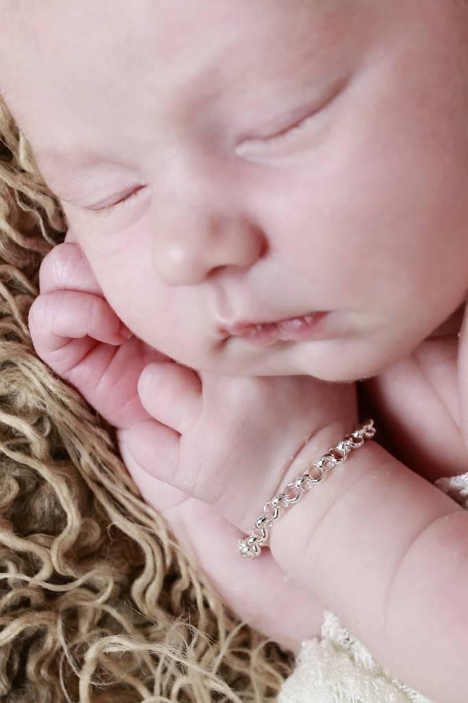 silver jewellery Trendy silver bracelets, mom & me Chain