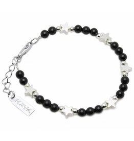 "Shine Bright Children's bracelet ""Shine Bright Black"""