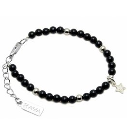 "Shine Bright Children's bracelet ""Black Onyx"""