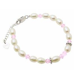 """Little Diva (silver) Silver baby bracelet """"Little Diva"""""""