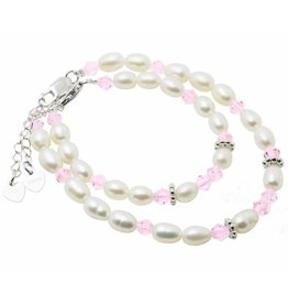 KAYA jewellery Sterling Silver Mom & Me bracelet set 'Little Diva'