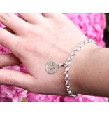 """Engraved jewellery Silver Engraved Charm""""Love You Always"""""""