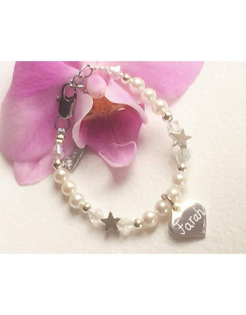 Engraved jewellery Personalized Bracelet 'Infinity'