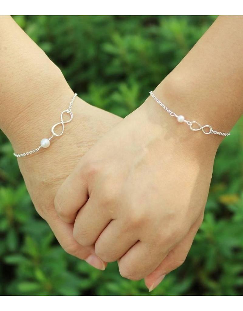 Silver Children's Bracelet 'Speechless'