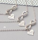 "KAYA jewellery Silver Infinity Bracelet ""Forever With Me"""
