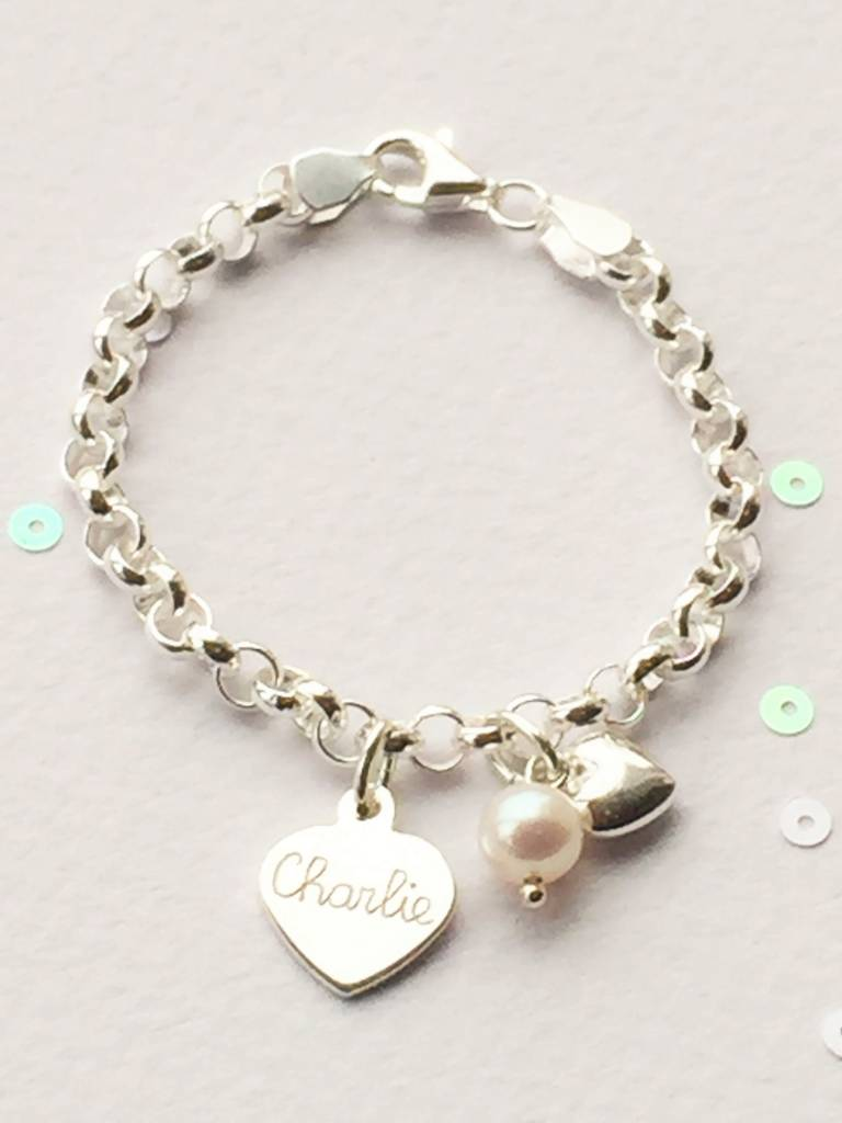 KAYA jewellery Personalized Silver Bracelet 'Chain'