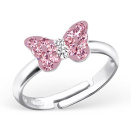 silver jewellery Kid's Silver Butterfly Ring