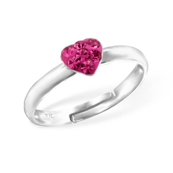 silver jewellery Kid's Silver Heart Ring