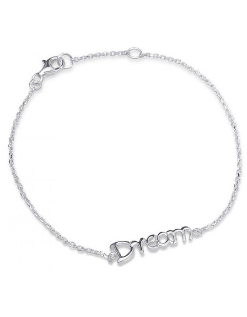 """silver jewellery Silver Baby Bracelet """"I Love You To The Moon & Back '"""