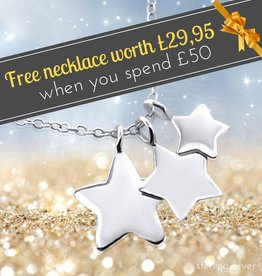 Free Necklace worth £29,95 when you spend £50 or more