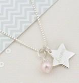 silver jewellery Silver Engraved Chain 'Twinkle Twinkle'