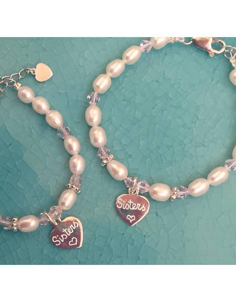 silver jewellery Pure silver bracelet 'Customized'
