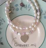 KAYA jewellery Silver Double Bracelet Customized