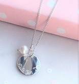 silver jewellery Silver Necklace 'Round and Round'