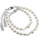 Engraved jewellery Ladies Bracelet Freshwater Pearls 'Mermaid Pearl'