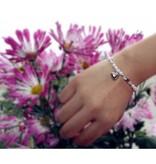 3 generation bracelets 'Shine Bright' with heart