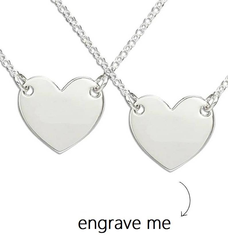 Engraved jewellery Two chains 'Memory' with engraving