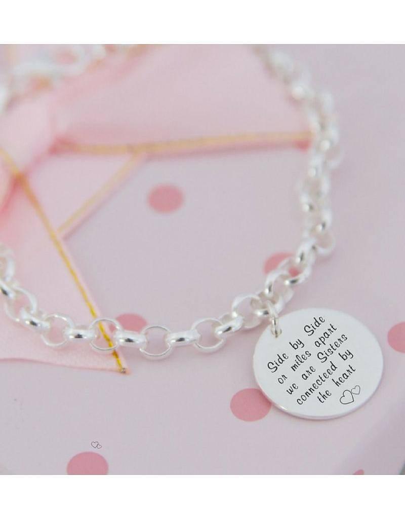 KAYA jewellery Silver Chain 'Mint' sister love