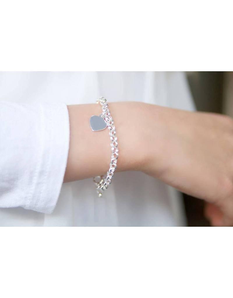 Engraved jewellery Jasseron bracelet set