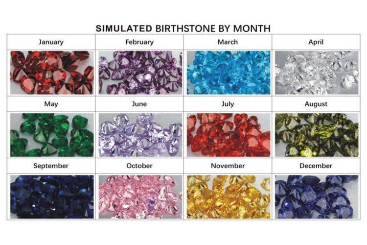 KAYA jewellery Birthstone necklace 'intertwined'