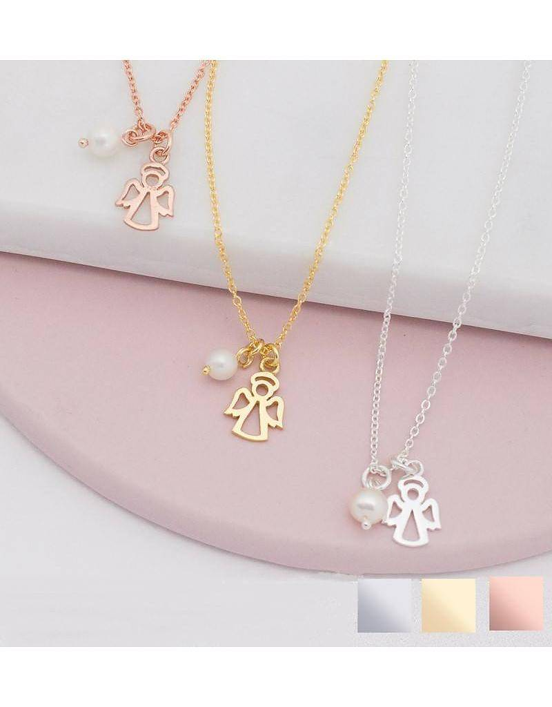 KAYA jewellery Sterling silver kids necklace 'angel'