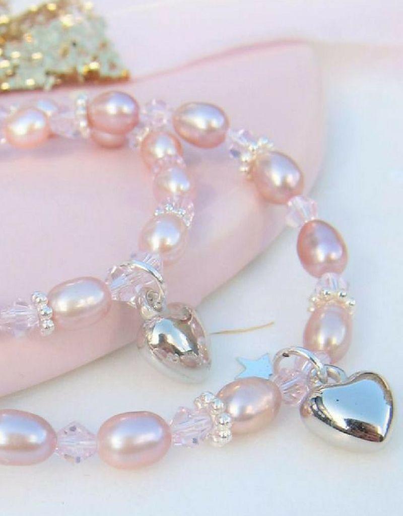 KAYA jewellery Beautiful Mum & Me Bracelet 'Princess' with Heart Charm
