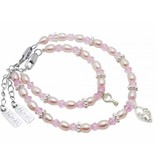 KAYA jewellery Key to my Heart Mum & Me Bracelet 'Infinity Pink'