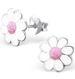 KAYA jewellery 'White Flower' Stud Earring