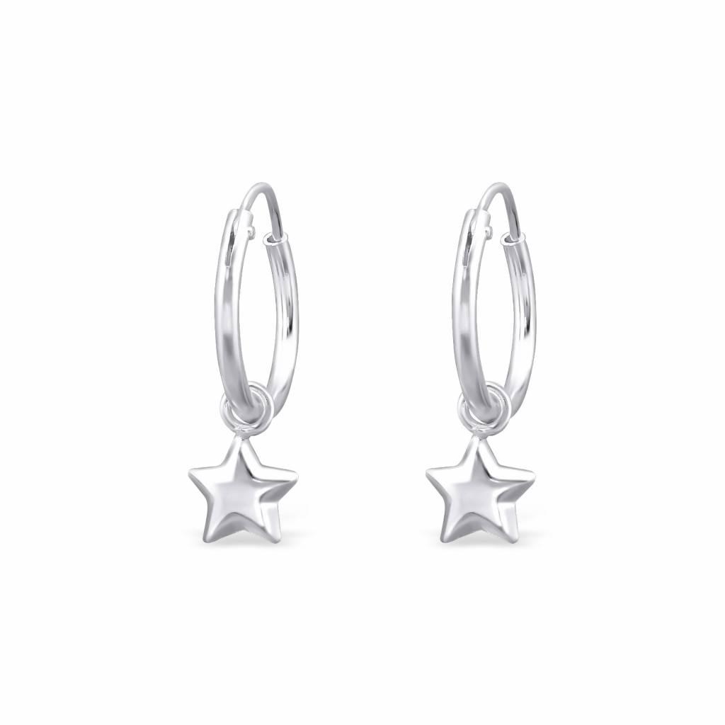 KAYA jewellery 'Silver Star' Earrings