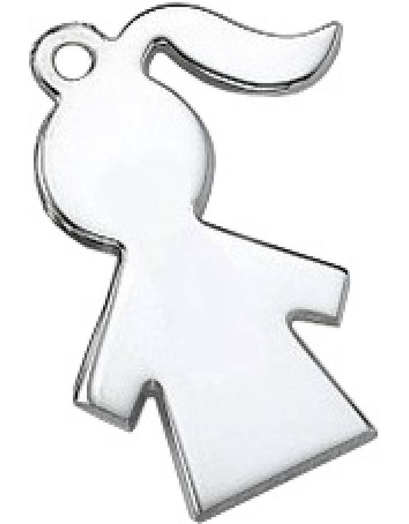 KAYA jewellery Silver necklace 'boy or girl'