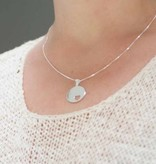 KAYA jewellery Silver charm 'including chain and engraving'