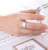 KAYA jewellery Ring with 2 birthstones 'Graceful'