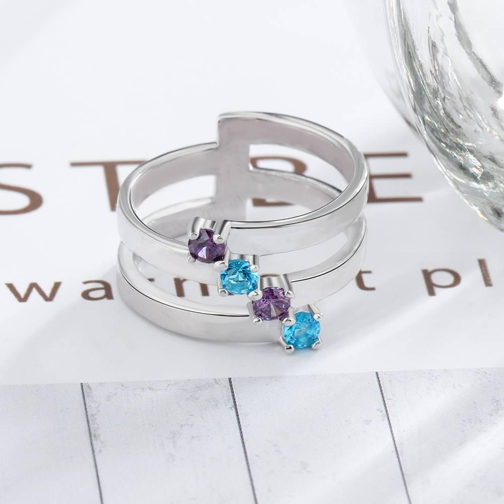 KAYA jewellery Classy birthstone ring 'Gorgeous'