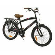 2Cycle Kinderfiets 20 inch Cruiser Power Zwart