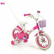 2Cycle Kinderfiets 14 inch met duwstang