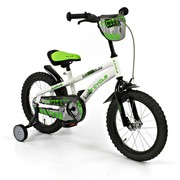 2Cycle Kinderfiets 16 inch City Wit-groen