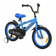 2Cycle Kinderfiets 16 inch Jump Wit-blauw