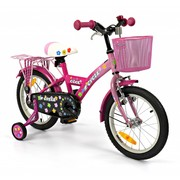 2Cycle Kinderfiets 16 inch Cool Roze