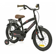 2Cycle Kinderfiets 16 inch Cruiser Power Zwart