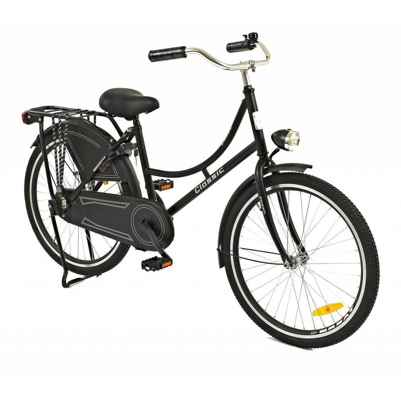 2Cycle Omafiets 24 inch Zwart (2460)